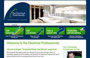 Exclamationmark Advertising Portfolio: theelectricalprofessionals.co.nz